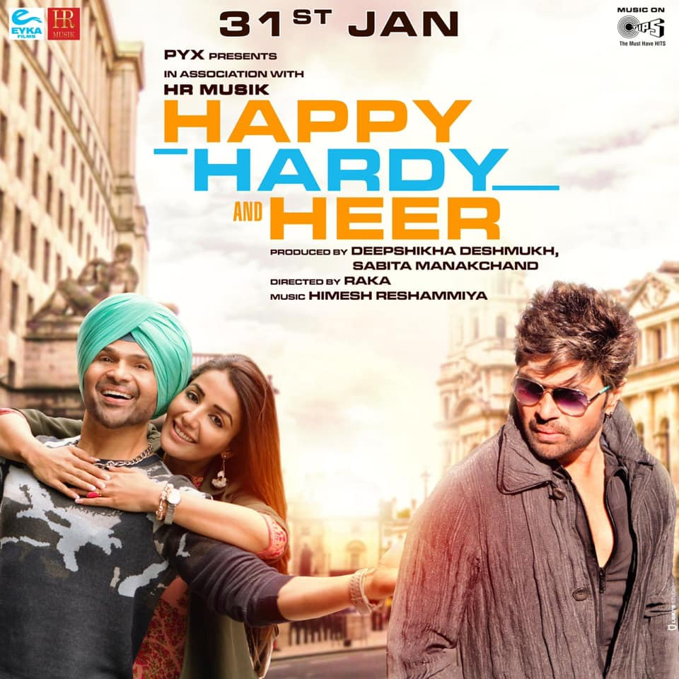 Happy Hardy And Heer (2020) Hindi 720p HQ PreDVD x264 AAC 2GB