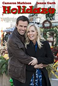 Jennie Garth and Cameron Mathison in Holidaze (2013)