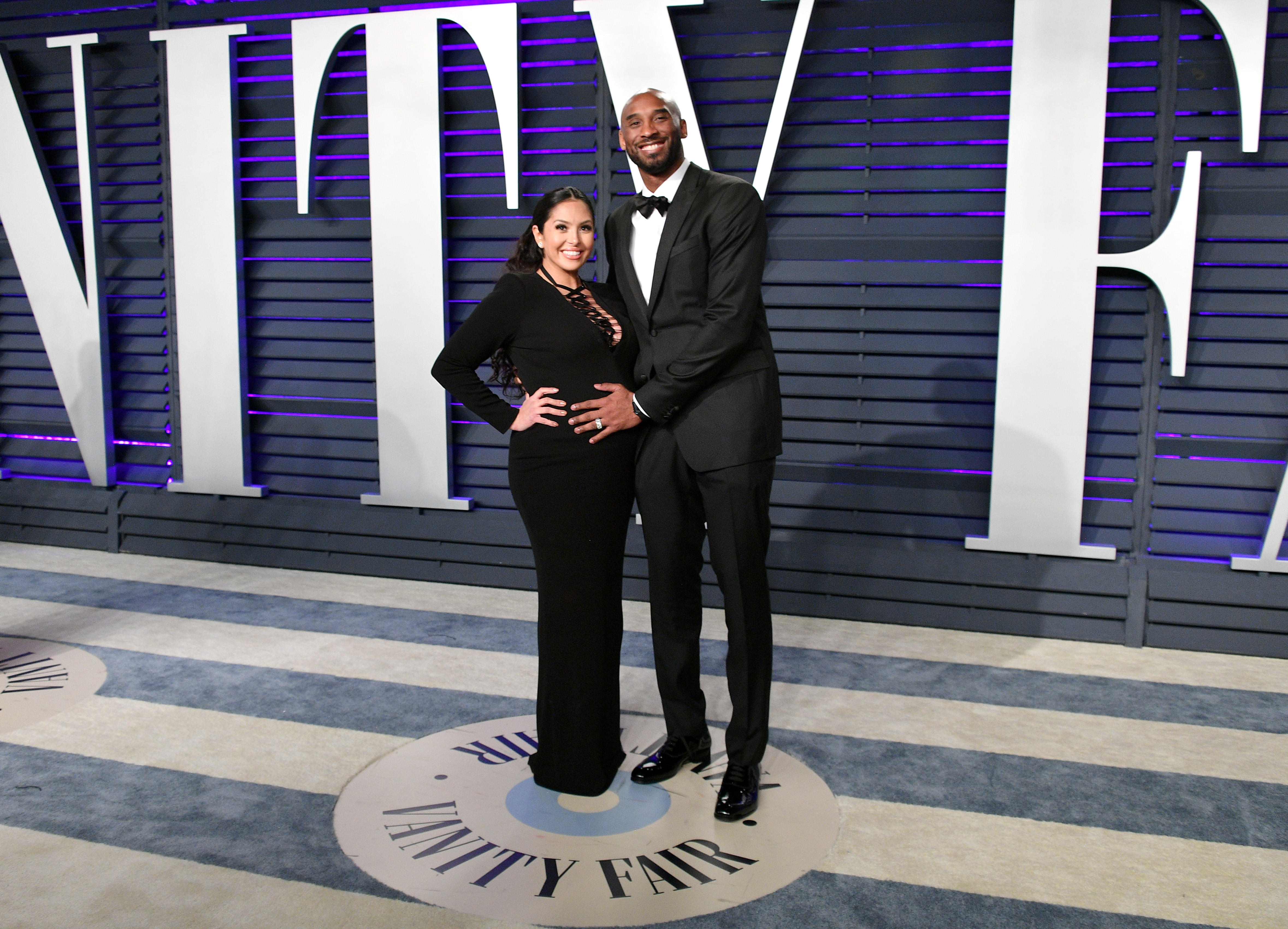 Kobe Bryant and Vanessa Laine Bryant at an event for The Oscars (2019)