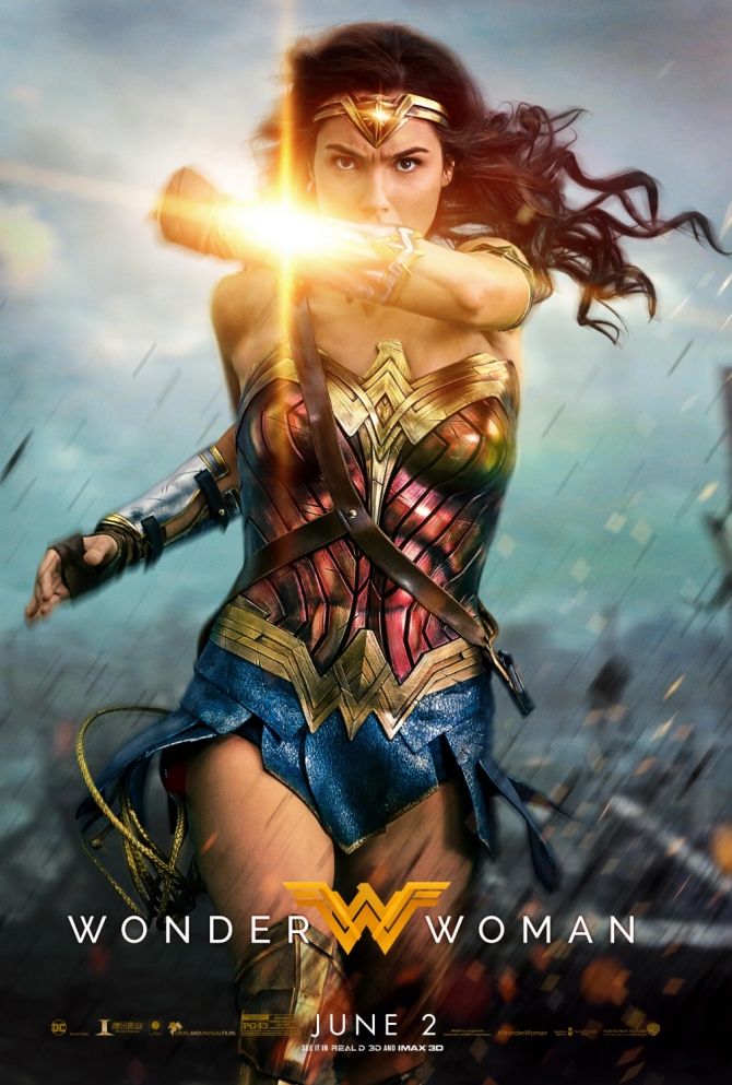 Wonder Woman (2017) Dual Audio Hindi 450MB BluRay 480p Full Movie