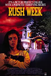 Rush Week (1989) Poster - Movie Forum, Cast, Reviews