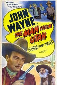 John Wayne and George 'Gabby' Hayes in The Man from Utah (1934)