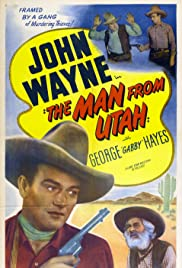The Man from Utah Poster