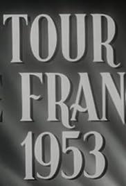 Tour De France 1953 Poster