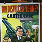 James Ellison, Virginia Gilmore, and Paul Harvey in Mr. District Attorney in the Carter Case (1941)