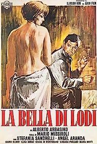 Ángel Aranda and Stefania Sandrelli in La bella di Lodi (1963)