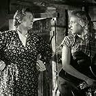Henny Lindorff Buckhøj and Annemette Svendsen in Den gamle mølle paa Mols (1953)