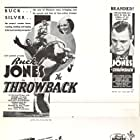 Muriel Evans, Buck Jones, and Silver in The Throwback (1935)