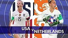 Estados Unidos vs. Países Bajos