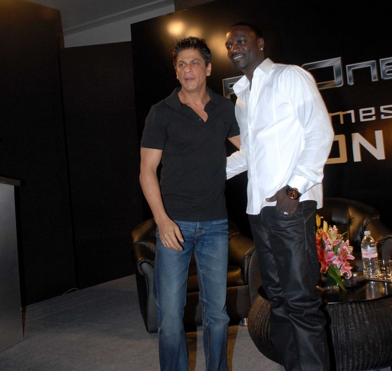 Shah Rukh Khan at an event for Ra.One (2011)