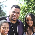 Omar Gooding, Parris Franz, and Alanna Forte in A Day of Trouble (2021)