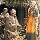 Jan Prochyra and Katarzyna Bujakiewicz in Stara basn. Kiedy slonce bylo bogiem (2003)