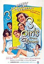 Three Girls from Rome (1952) with English Subtitles on DVD on DVD