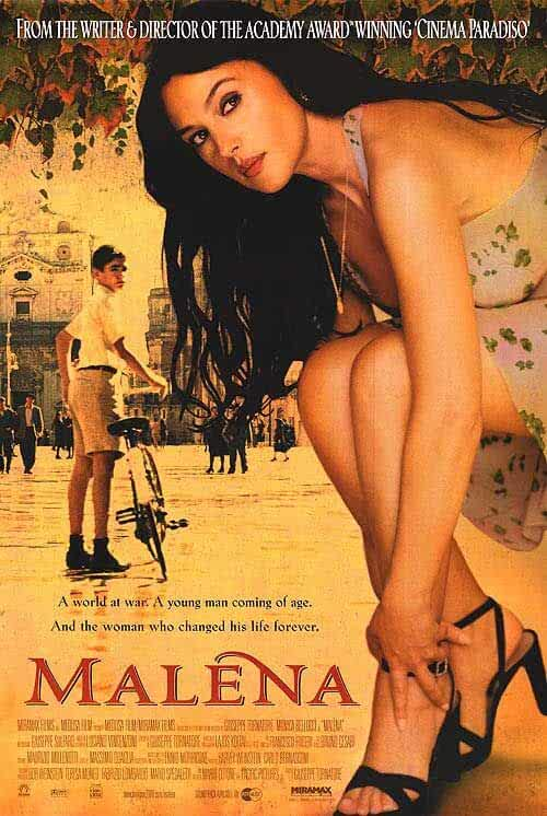 Malena (2000) UNRATED 720p HEVC BluRay Italian Movie With English Subs x265 AAC [550MB]