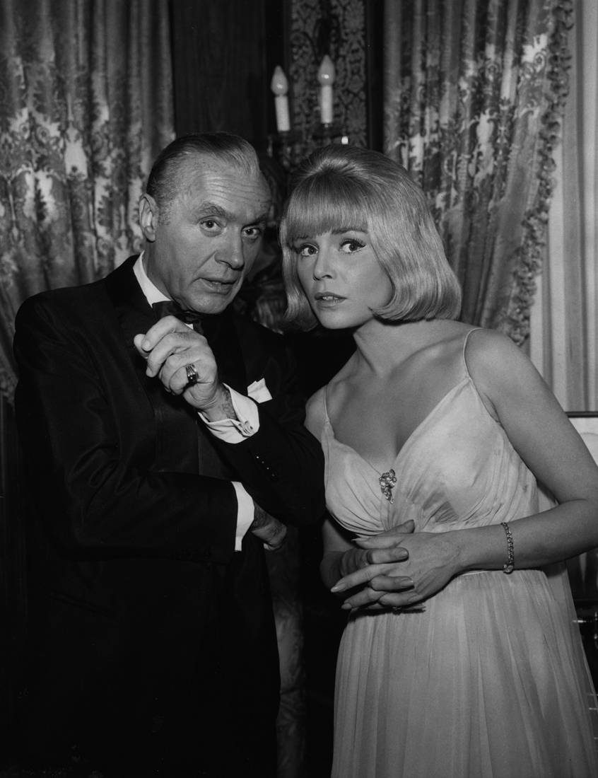 Charles Boyer and Susanne Cramer in The Rogues (1964)