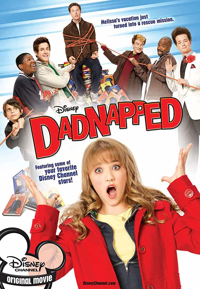 Emily Osment, David Henrie, Jason Earles, and Moises Arias in Dadnapped (2009)