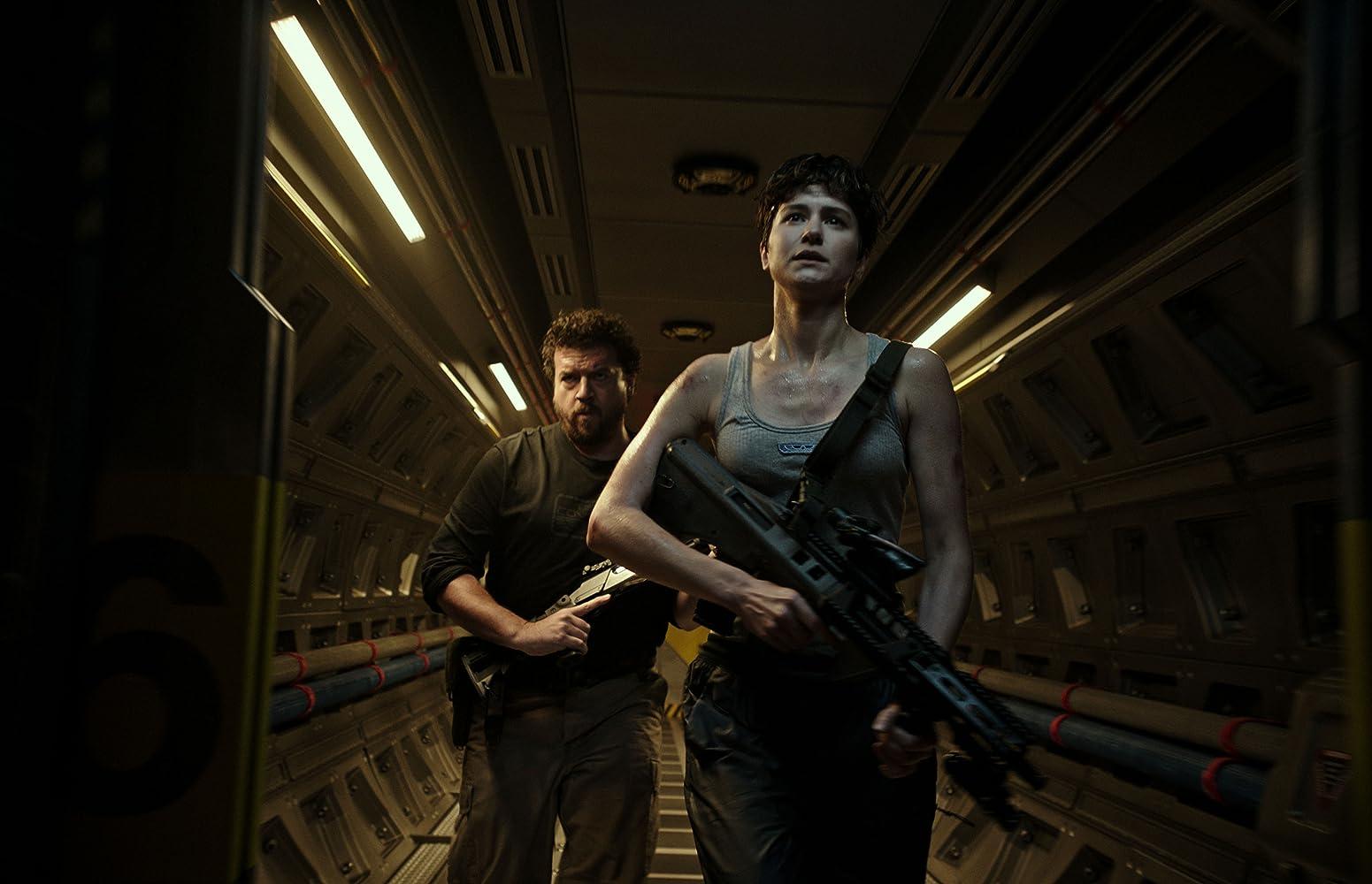 Danny McBride and Katherine Waterston in Alien: Covenant (2017)