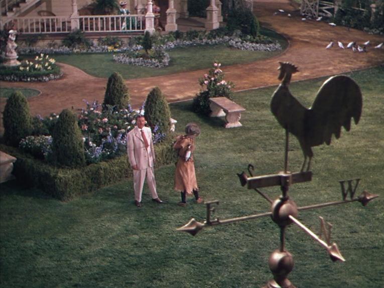 Betty Hutton and Clinton Sundberg in Annie Get Your Gun (1950)