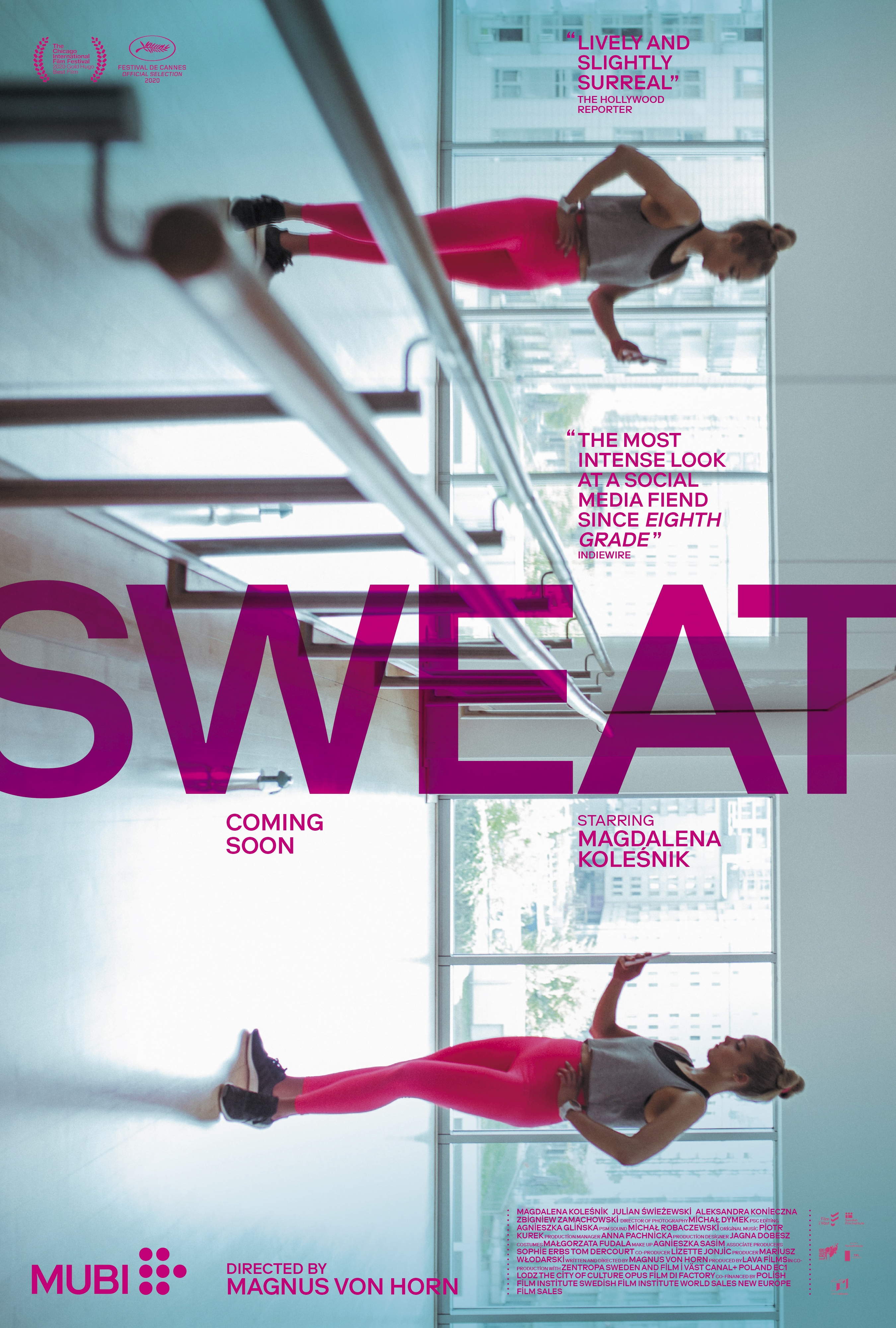 Sweat (2020) Hindi (Voice Over) Dubbed+ English [Dual Audio] WebRip 720p [1XBET]