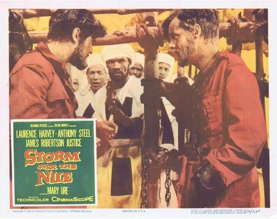 storm over the nile 1955 full movie