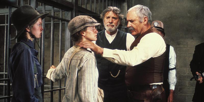 Burt Lancaster, Diane Lane, Amanda Plummer, and Rod Steiger in Cattle Annie and Little Britches (1981)