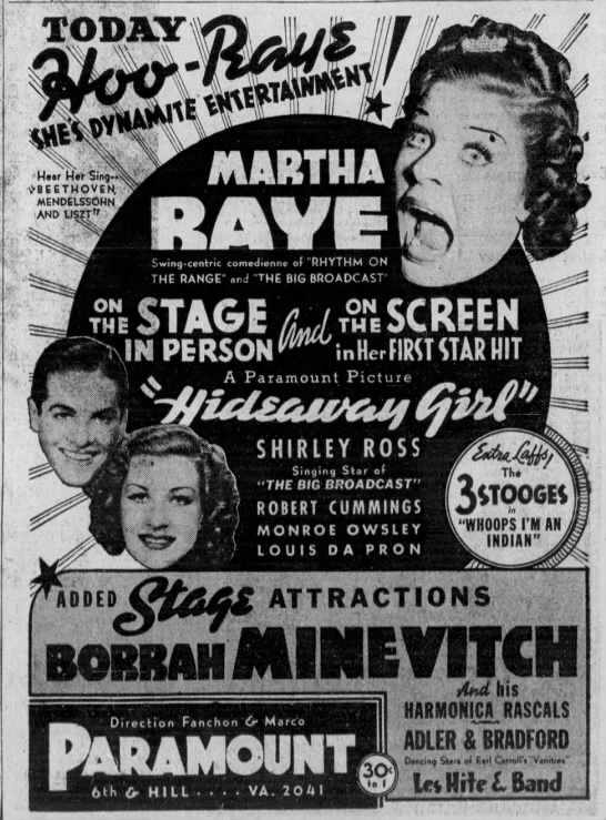 Hideaway Girl (1936)