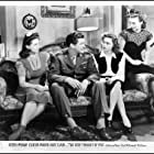 Andrea King, Dennis Morgan, Eleanor Parker, and Georgia Lee Settle in The Very Thought of You (1944)