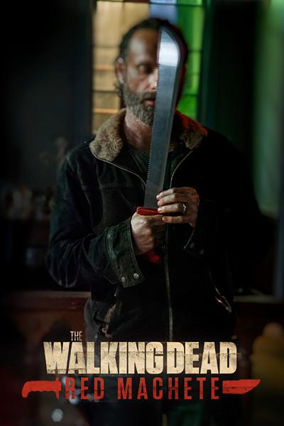 Poster The Walking Dead: Red Machete