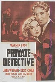 Private Detective Poster