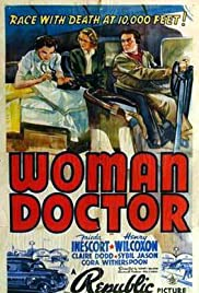 Woman Doctor Poster
