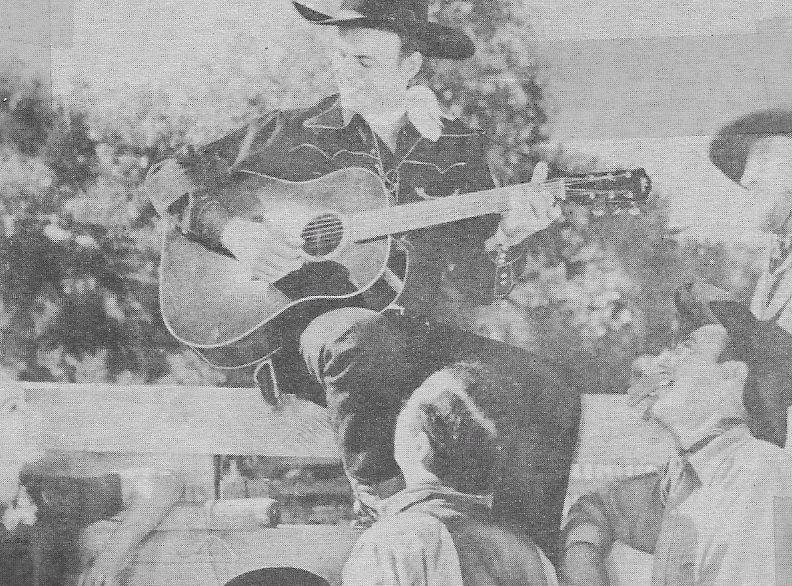 Bob Baker, Chuck Baldra, and Tex Phelps in Prairie Justice (1938)