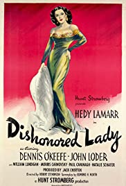 Dishonored Lady Poster