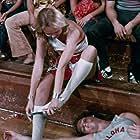 David Hasselhoff and Patrice Rohmer in Revenge of the Cheerleaders (1976)