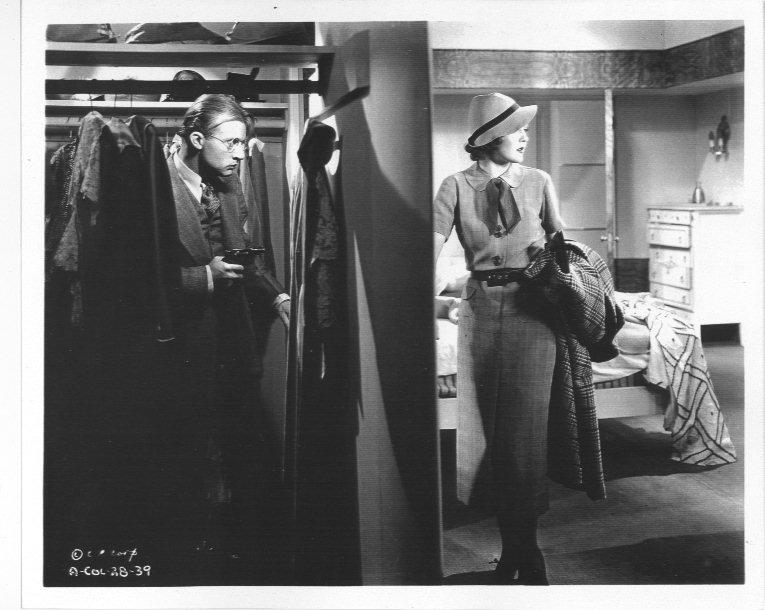 Nancy Carroll and Dwight Frye in Atlantic Adventure (1935)