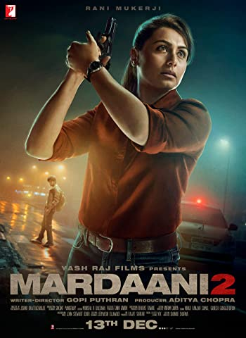 Poster of Mardaani 2 2019 Full Hindi Free Download Watch Online In HD Movie Download 720p HDRip