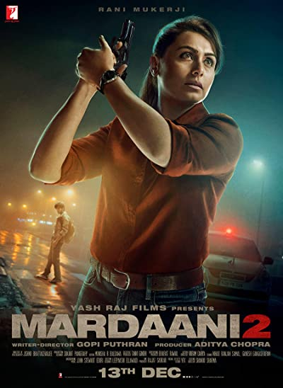 Poster of Mardaani 2 2019 Full Hindi Free Download Watch Online In HD Movie Download 1080p HDRip