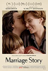 Scarlett Johansson, Adam Driver, and Azhy Robertson in Marriage Story (2019)