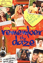 On Location with Remember the Daze Poster