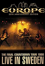 Europe: Final Countdown Tour - Live in Sweden 1986 Poster
