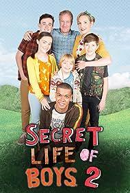 Grant Burgin, Elizabeth Bower, Neil Reynolds, Erica Brown, Reece Buttery, Gene Gurie, and Joel Guy in Secret Life of Boys (2015)