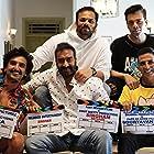Ajay Devgn, Akshay Kumar, and Ranveer Singh in Sooryavanshi (2021)