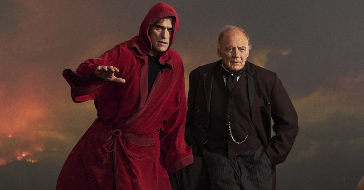 Matt Dillon and Bruno Ganz in The House That Jack Built (2018)