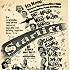 James Cagney, Gary Cooper, Doris Day, Randolph Scott, Virginia Gibson, Ron Hagerthy, Phil Harris, Frank Lovejoy, Gordon MacRae, Virginia Mayo, Gene Nelson, Lucille Norman, Louella Parsons, Ruth Roman, Janice Rule, Dick Wesson, Jane Wyman, and Patrice Wymore in Starlift (1951)