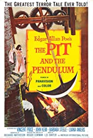 Vincent Price, John Kerr, and Barbara Steele in The Pit and the Pendulum (1961)