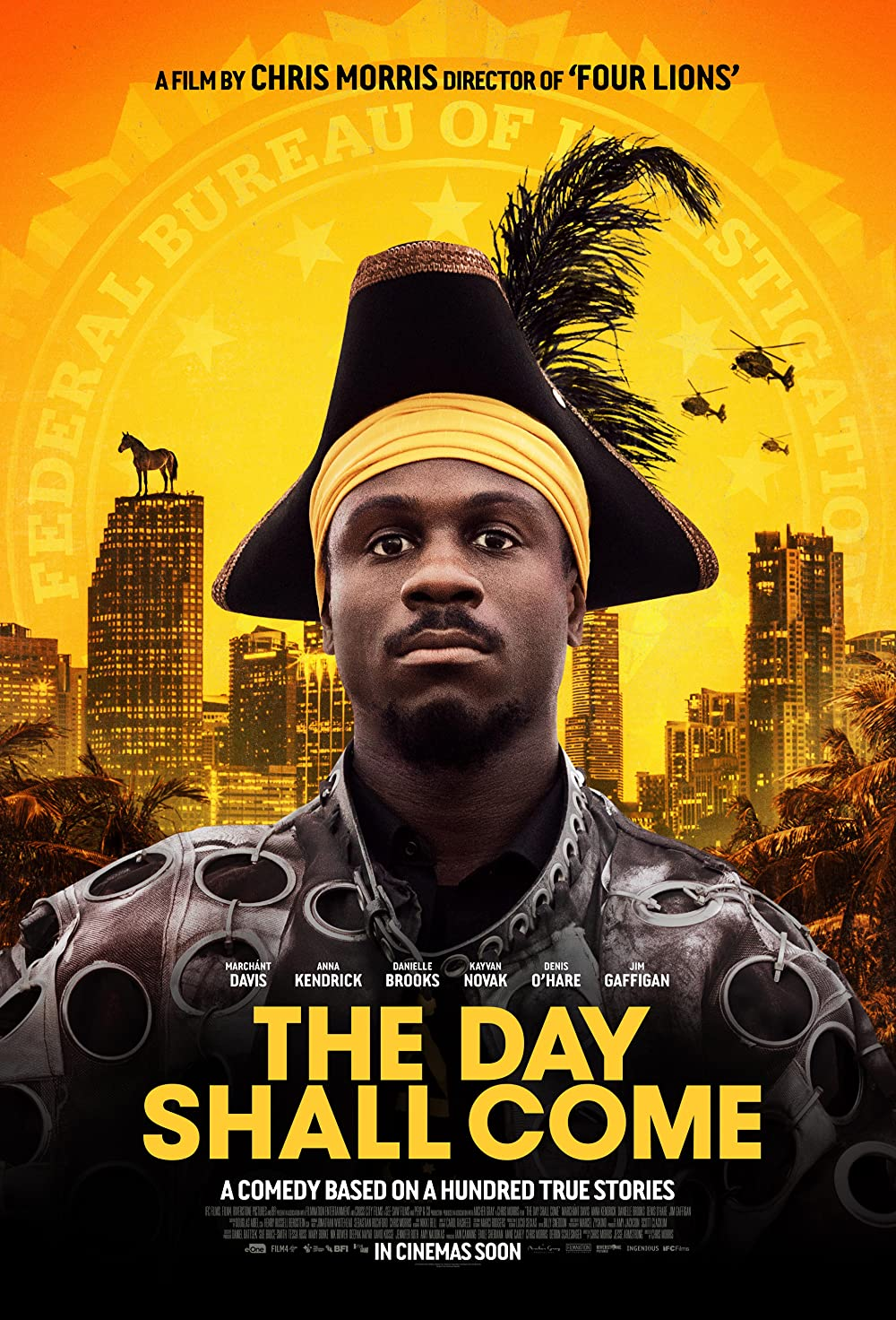 Download The Day Shall Come 2019 Hindi ORG Dual Audio 480p NF HDRip MSub 300MB