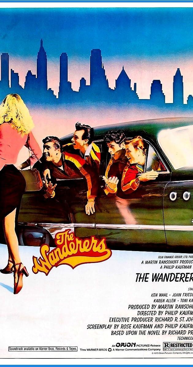 The Wanderers Film Veste Homme Universitaire Blouson Teddy Université