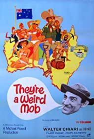 They're a Weird Mob (1966) Poster - Movie Forum, Cast, Reviews