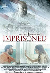 Laurence Fishburne, Juana Acosta, and Juan Pablo Raba in Imprisoned (2018)