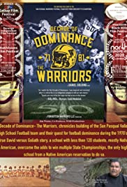 Decade of Dominance, the Warriors Poster