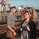 Sergey Filippov and Zoya Fyodorova in Medovyy mesyats (1956)
